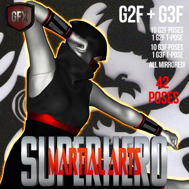 SuperHero Martial Arts for G2F & G3F Volume 1