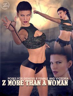 Z More Than A Woman- Poses and Expressions for Genesis 8 Female and Victoria 8