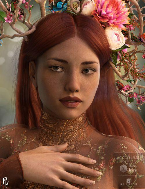 Pix Liliana for Genesis 8 Female | 3D models for Daz Studio