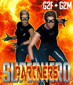 SuperHero Partners for G2F and G2M Volume 1