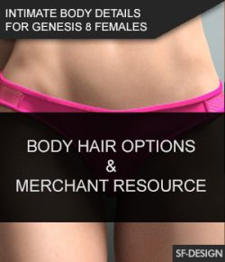 Intimate Body Details for Genesis 8 Females and MR