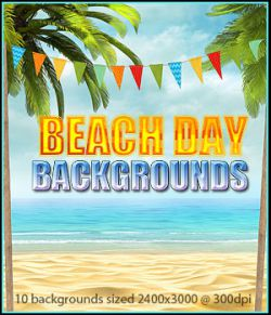 FS Beach Day Backgrounds
