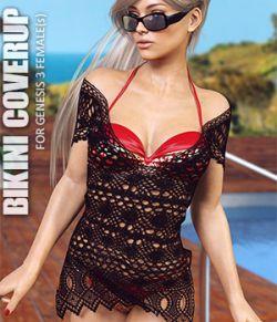Bikini Coverup for Genesis 3 Females