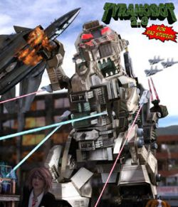 TyranoBot 2.0 - for DAZ Studio