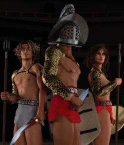 Gladiator for Genesis 3 Male and Female