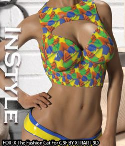 InStyle- X-The Fashion Cat for Genesis 3 Female(s)