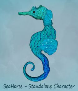 Seahorse - Standalone Character