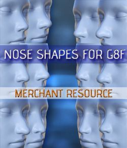 Nose Shapes for G8F- Merchant Resource