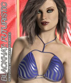 BLACKHAT:FUTURISTIC- Future Swimwear 5 for G3F