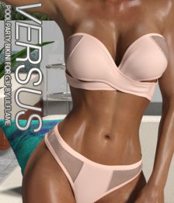VERSUS- Pool Party Bikini for Genesis 3 Females