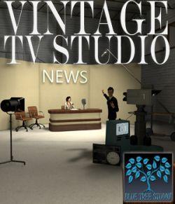 Vintage TV Studio