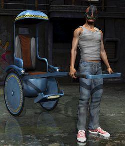 Razor Rider Rickshaw