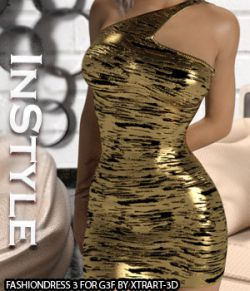 InStyle - FashionDress 3 for Genesis 3 Females