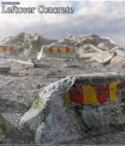 3D Scenery: Leftover Concrete