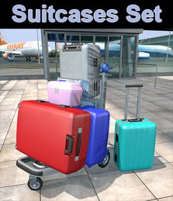 Travelers Suitcases Set