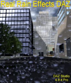 Real Rain Effects DAZ