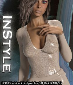 InStyle- X-Fashion X Bodysuit for Genesis 3 Females