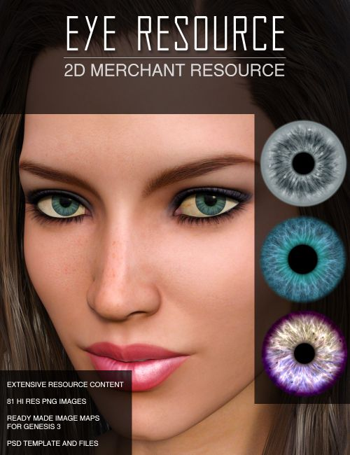 Eye Source - Eye Image Maps Merchant Resource