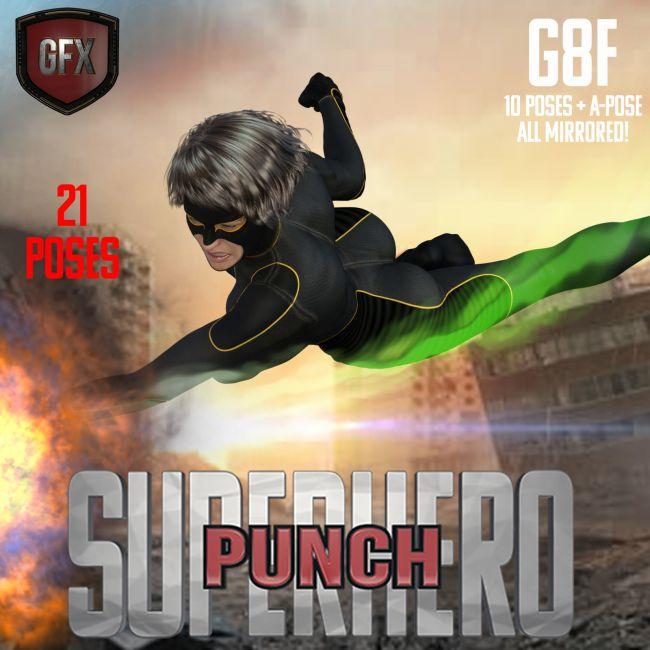 SuperHero Punch for G8F Volume 1