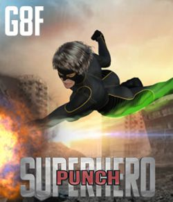 SuperHero Punch for G8F Volume 1