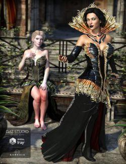 The Corvus Ensemble for Genesis 3 Female(s) and Genesis 8 Female(s)