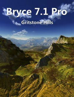 Bryce 7.1 Pro - Gritstone Hills