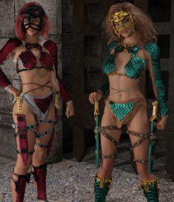 Dragon Scale for Genesis 8 female