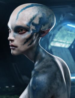 Nenana Alien HD for Genesis 8 Female