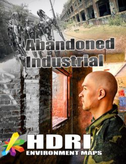 MEC4D HDRI Abandoned Industrial-Megapack