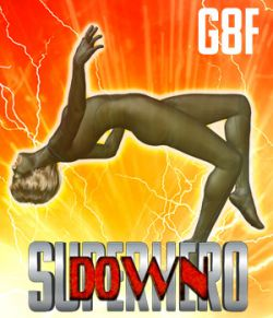 SuperHero Down for G8F Volume 1