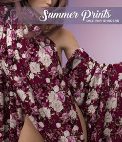 DAZ Iray- Summer Prints