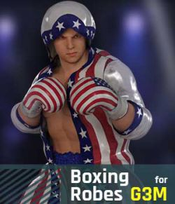Boxing Robes G3M for Genesis 3 Male