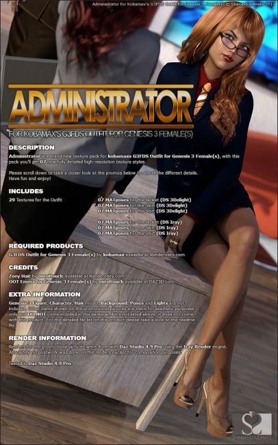 Administrator for G3FDS Outfit
