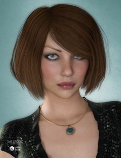 Dina Hair for Genesis 3 and 8 Female(s)