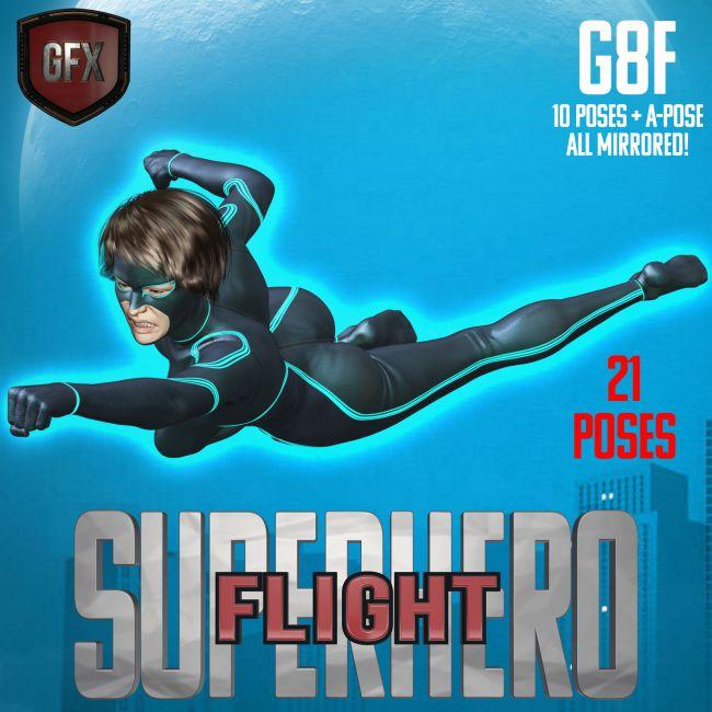 SuperHero Flight for G8F Volume 1