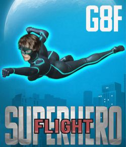 SuperHero Flight for G8F Volume 1