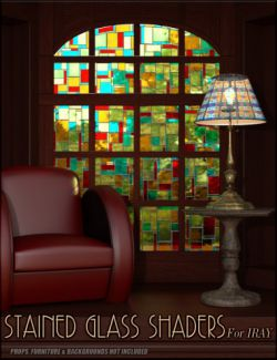 Stained Glass Iray Shaders