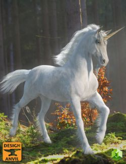 DA Unicorn for Daz Horse 2