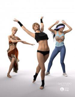Dance Dance Poses for Genesis 8 Female(s)