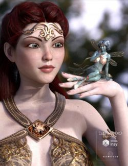 Celinette - Human and Fairy for Genesis 3 Female