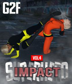SuperHero Impact for G2F Volume 4