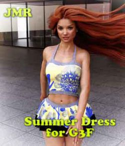JMR Summer Dress for G3F
