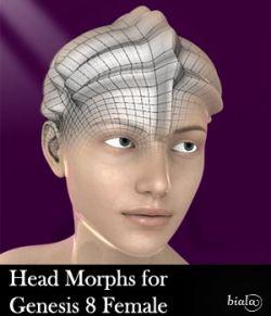 Head Morphs For Genesis 8 Female