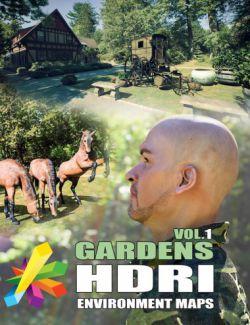 MEC4D HDRI Gardens Vol.1- Megapack