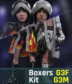 BUNDLE- Boxers Kit G3 Pack for Gensis 3 Female And Gensis 3 Male