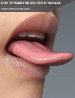 Easy Tongue for Genesis 8 Female(s)