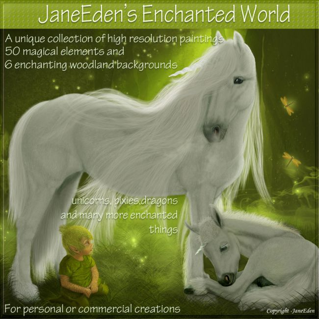 JaneEden's Enchanted World