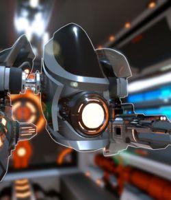 Sci-fi Drone prototype