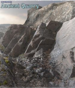 3D Scenery: Ancient Cliffs