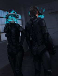 Sci-Fi Head Gear for Genesis 3